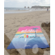 "Beach Towel Marcel CÔTE BASQUE ""Van Sunset"""