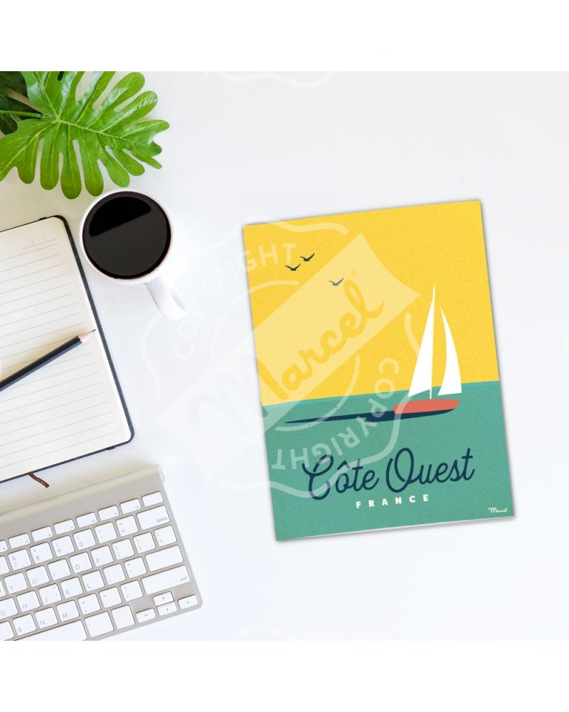 Cahier de Note Côte Ouest Boat