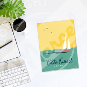 Carnet de Notes Côte Ouest Boat