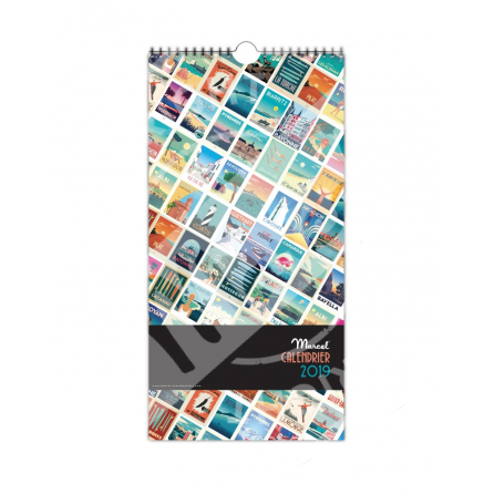Calendar Marcel 2019