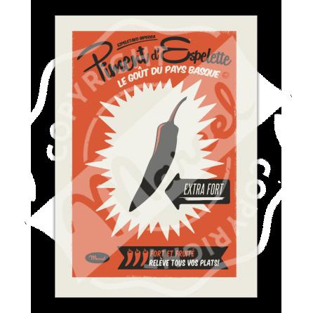 """Poster Advert """"Piment d' Espelette"""""""