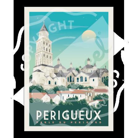 Affiche PERIGUEUX Cathédrale SAINT-FRONT