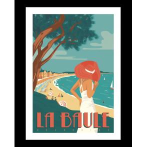 Affiche La Baule - Marcel Travel Poster