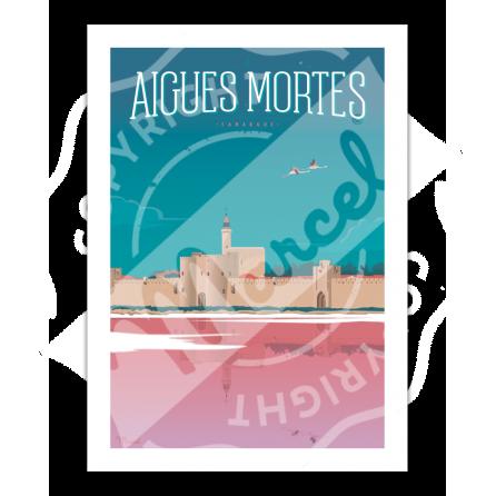 Affiche Aigues Mortes