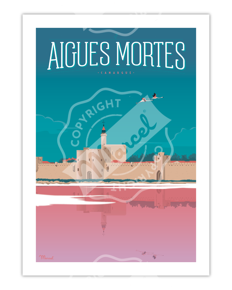 Poster Aigues Mortes