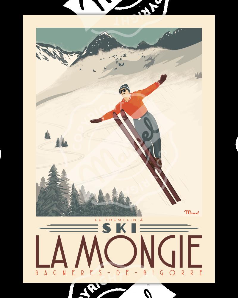 "Poster LA MONGIE ""Tremplin..."