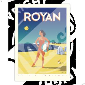 Affiche ROYAN Côte Atlantique