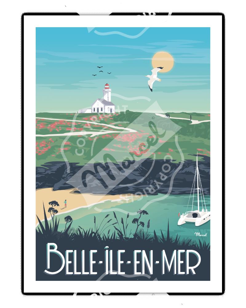 Poster Belle-Île-en-Mer