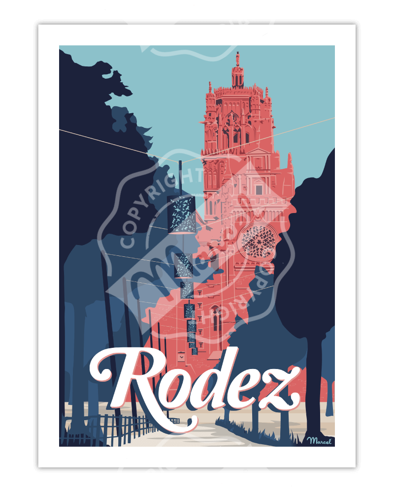 Poster RODEZ