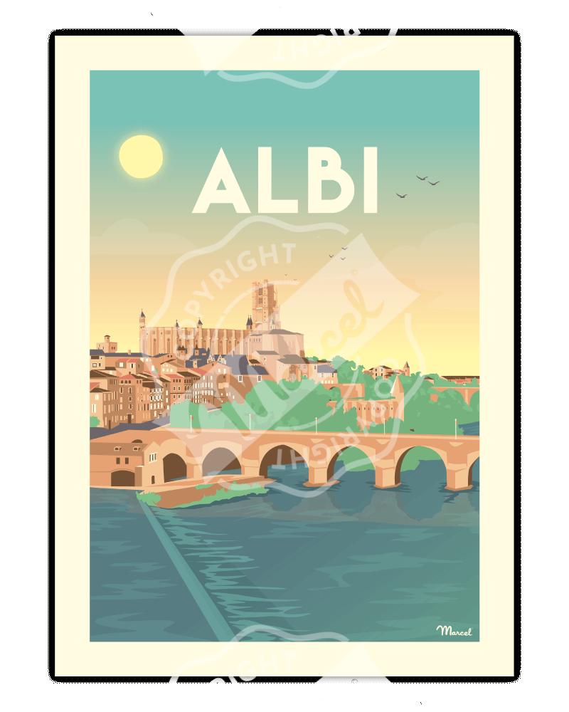AFFICHE ALBI