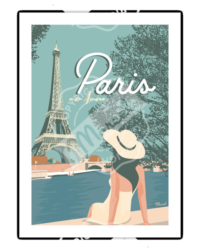 Poster PARIS MON AMOUR