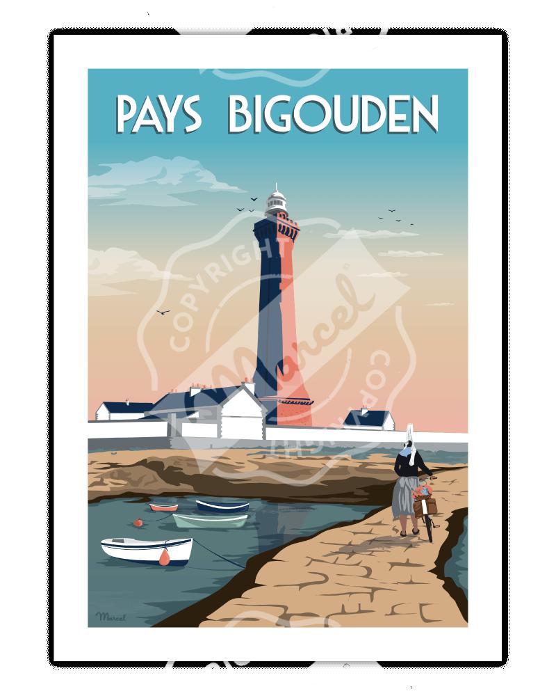 Poster PAYS BIGOUDEN