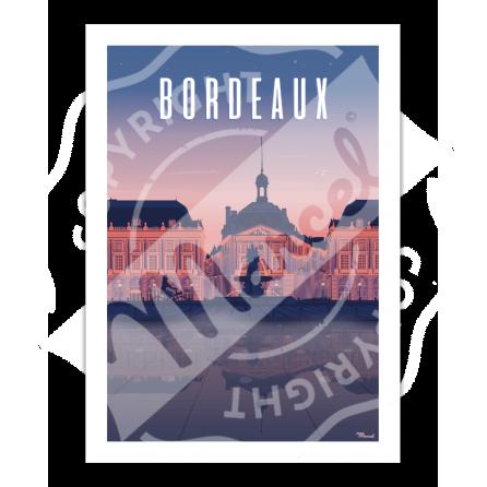Affiche de Bordeaux