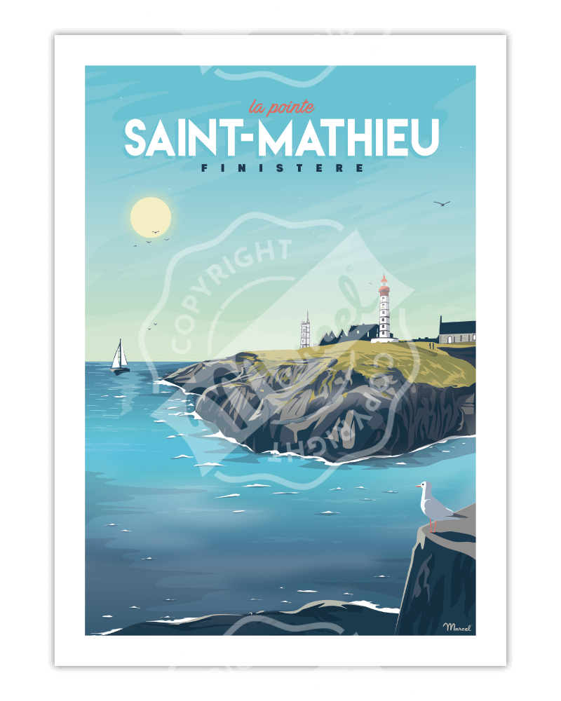 Poster LA POINTE SAINT-MATHIEU