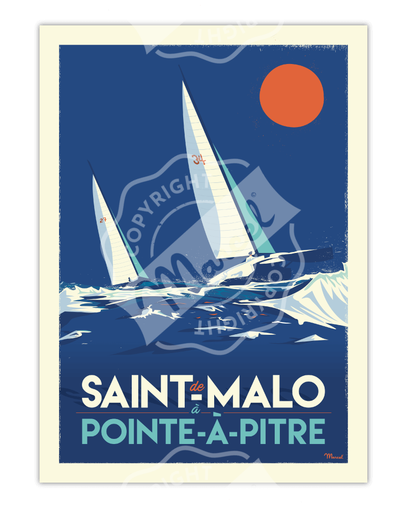 Poster  ST MALO /...