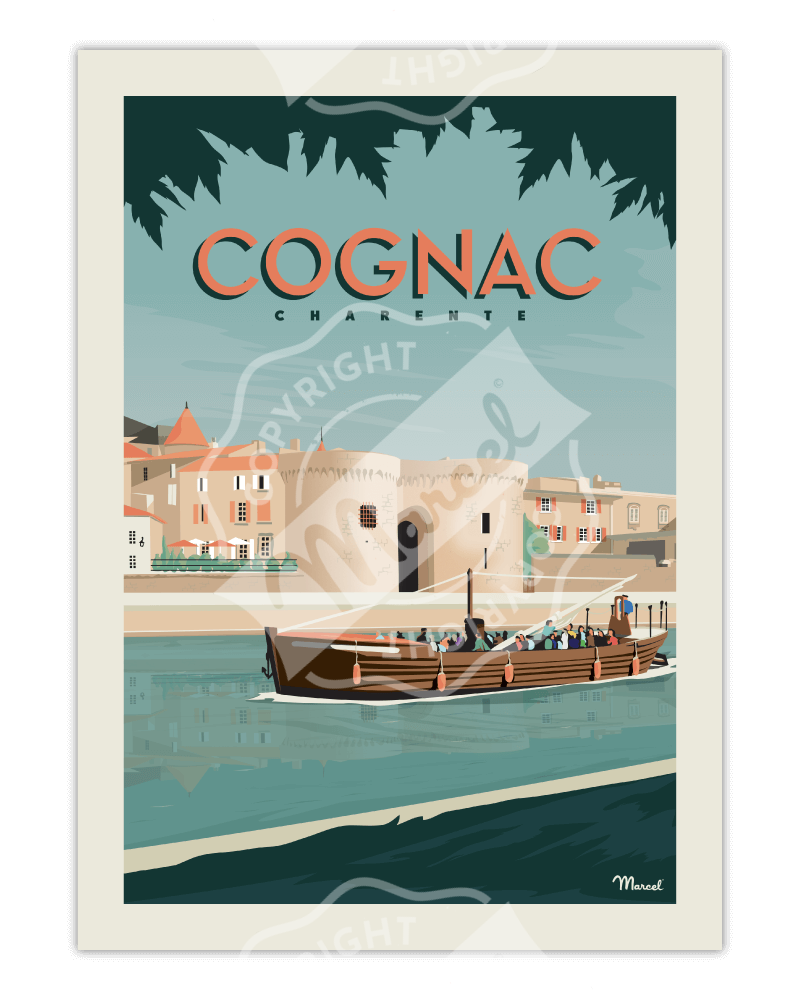 Affiche COGNAC