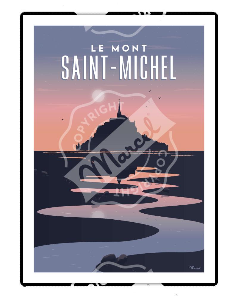 Poster MONT SAINT-MICHEL