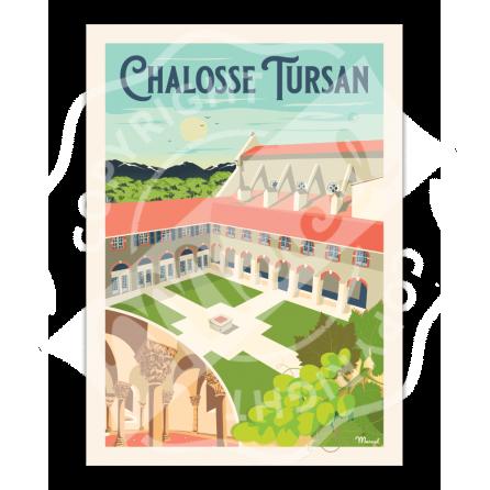 Affiche CHALOSSE-TURSAN