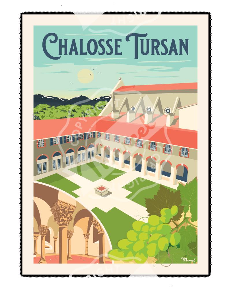 Poster CHALOSSE-TURSAN
