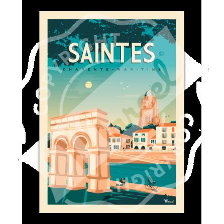 AfficheSAINTES Charente-Maritime