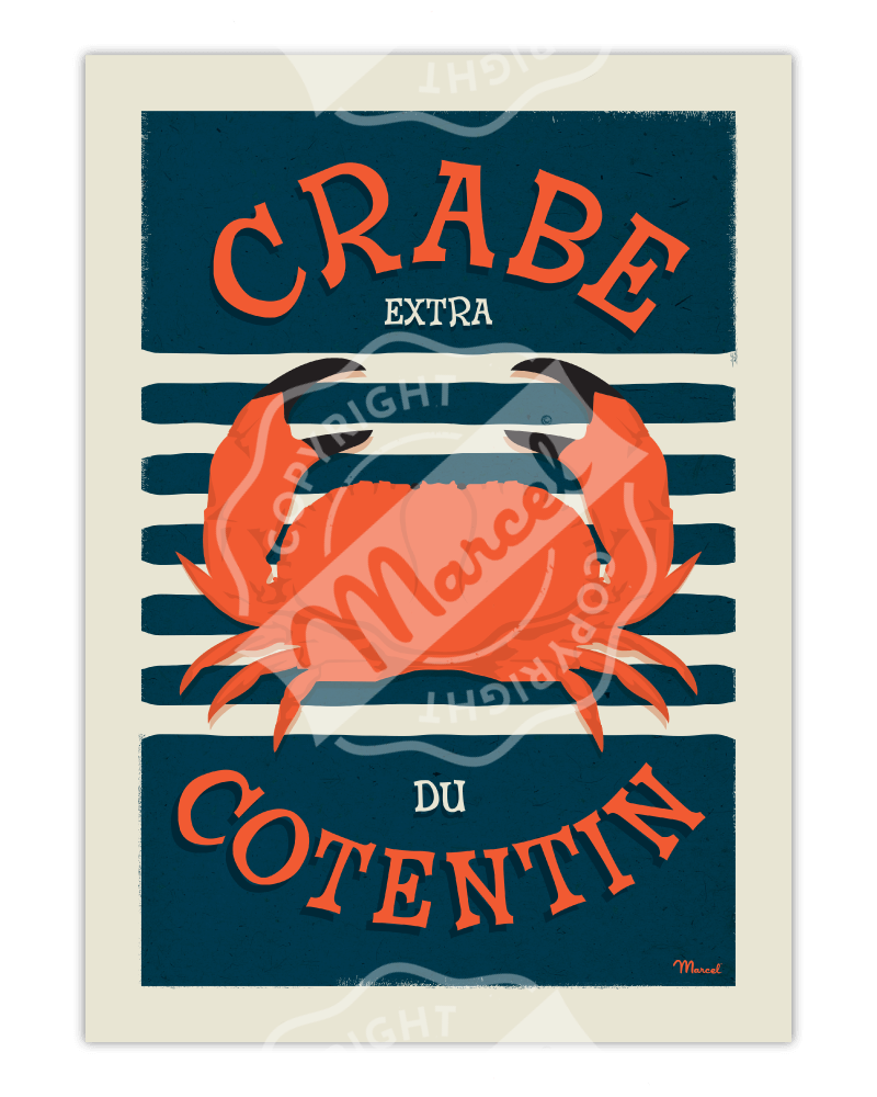 Affiche CRABE du Cotentin