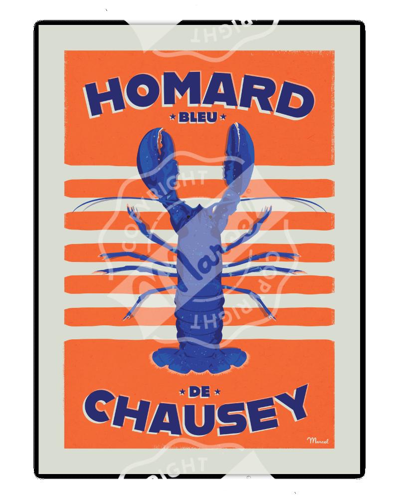 Affiche HOMARD DE CHAUSEY