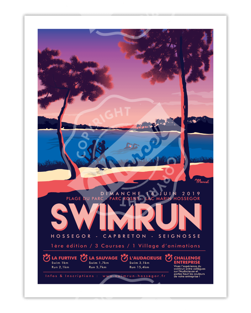 Poster Marcel SWIMRUN...