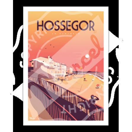 "Affiche HOSSEGOR ""La Centrale"""