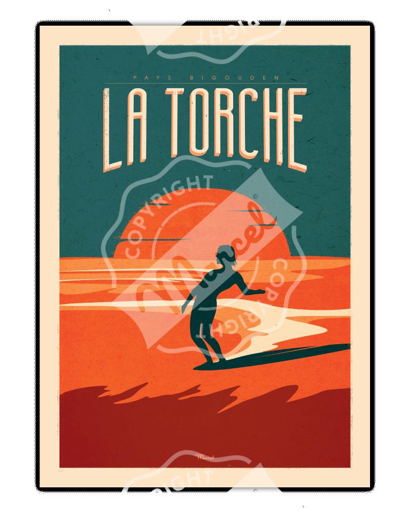 Poster La Torche Surfing