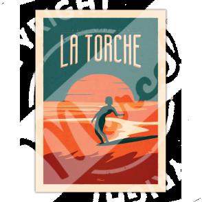 Affiche La Torche Surfing