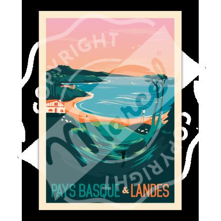 Affiche PAYS BASQUE & LANDES