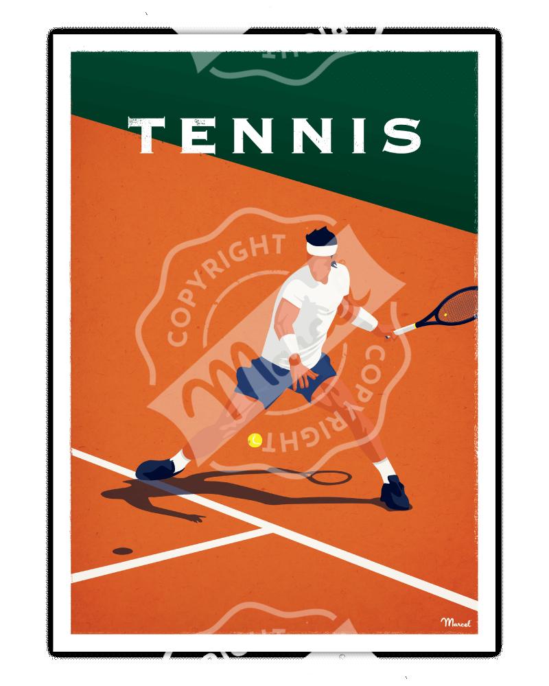 Affiche TENNIS