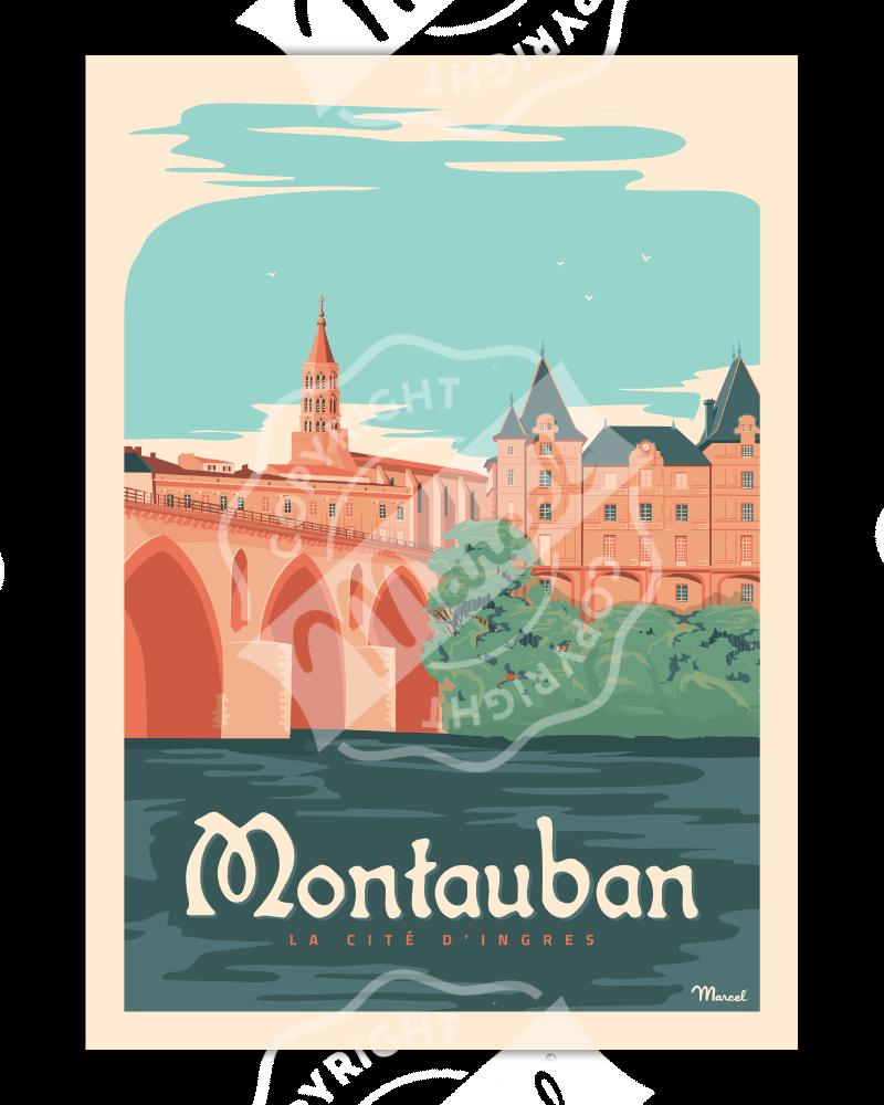 Poster MONTAUBAN