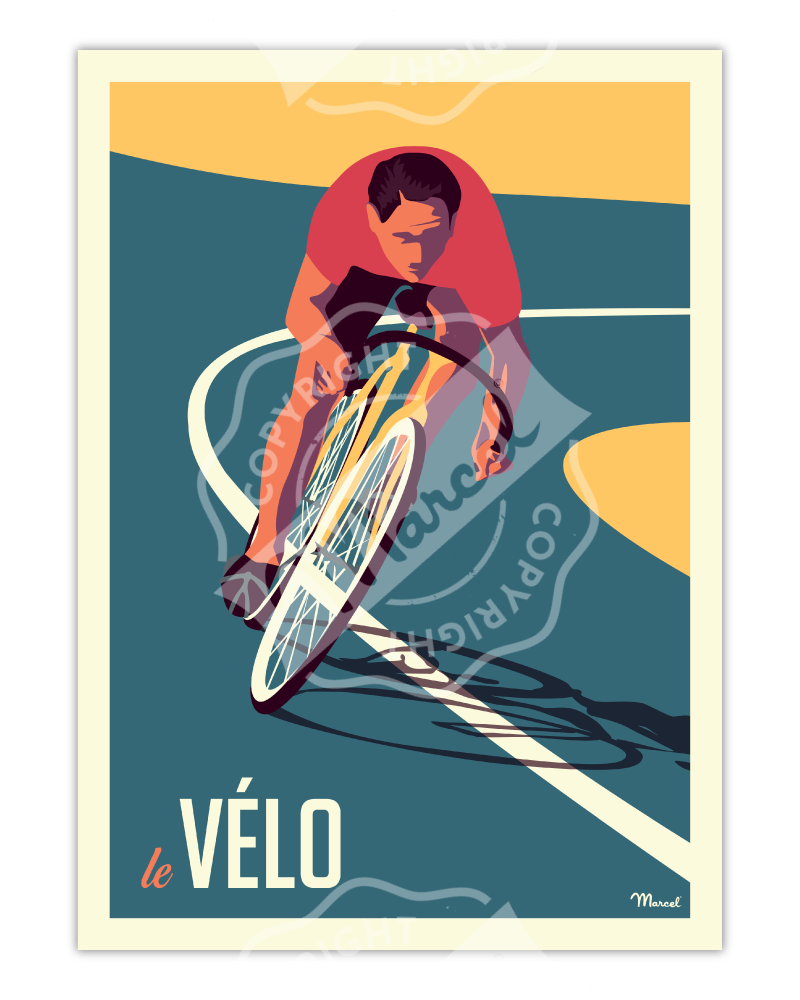 Poster LE VELO