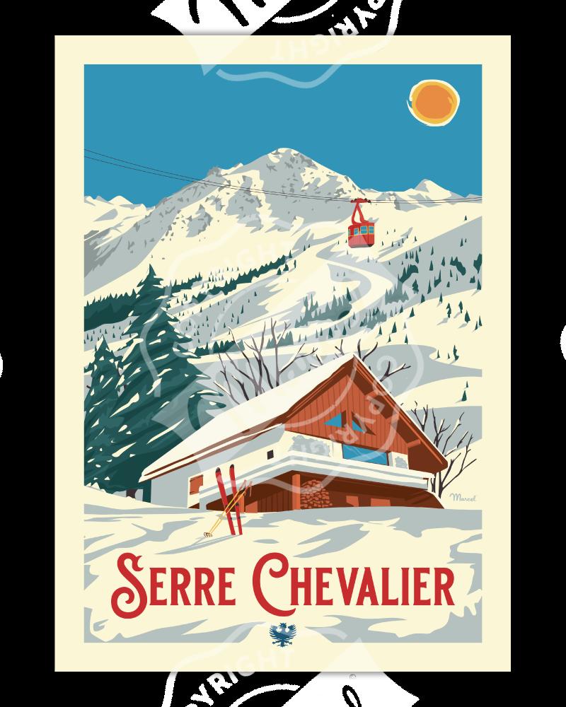 Poster Marcel SERRE...