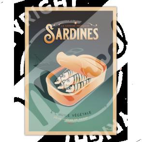 Affiche LES SARDINES