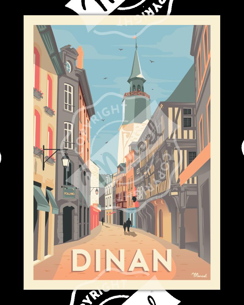 Poster Marcel DINAN