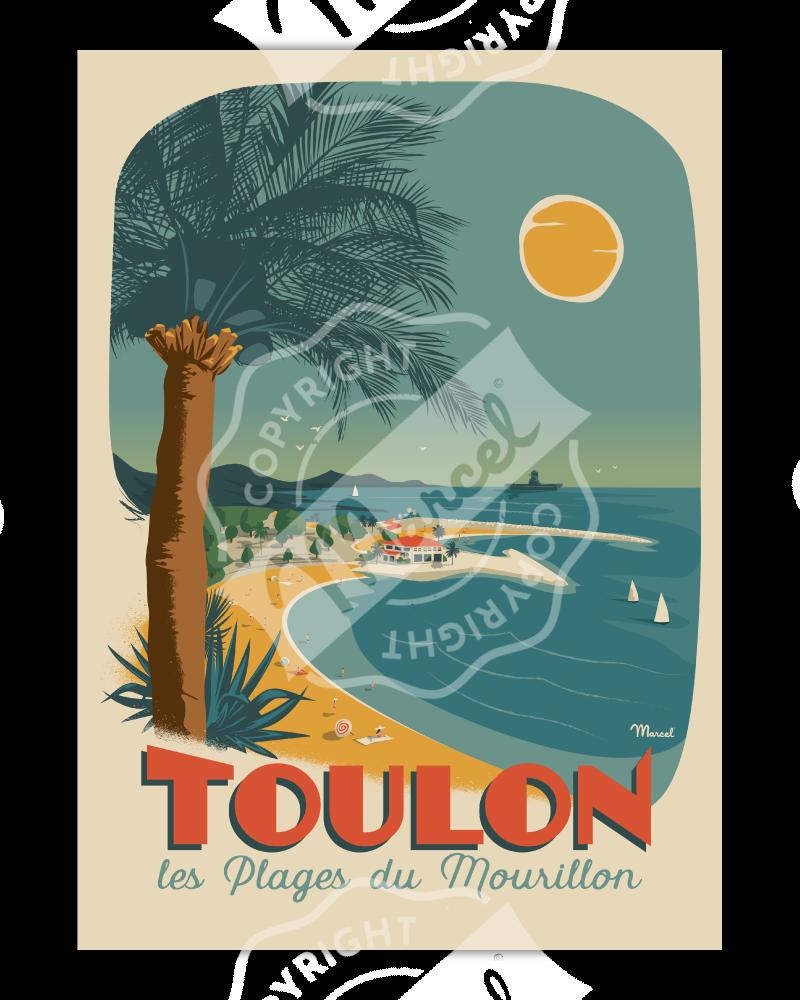 Poster Marcel TOULON...