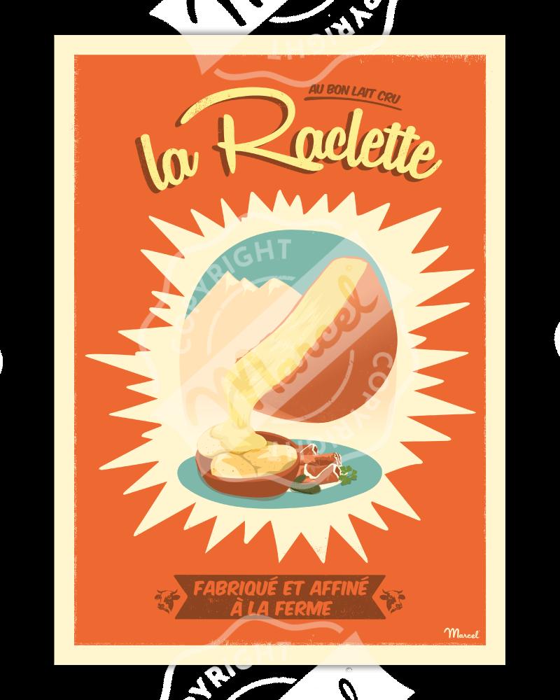 Poster Marcel LA RACLETTE