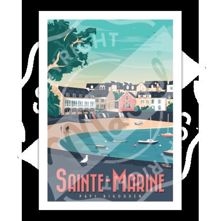 Affiche SAINTE-MARINE