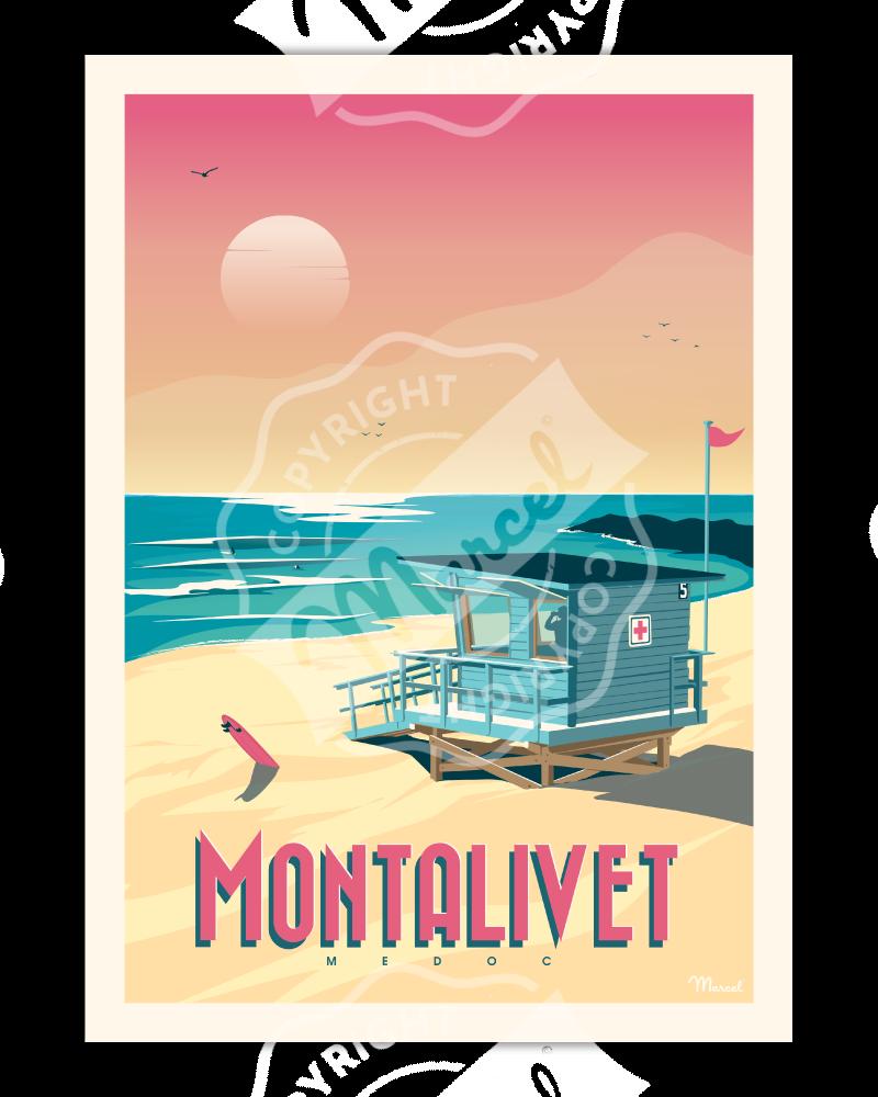 Poster MONTALIVET