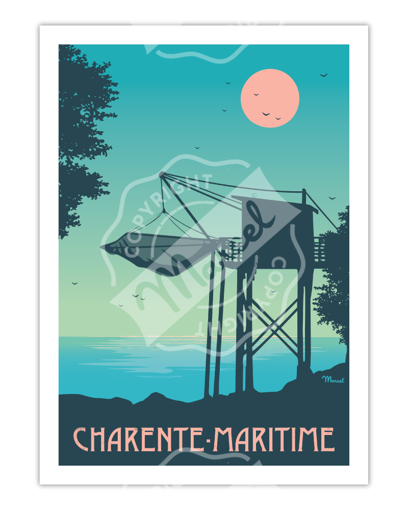 Poster CHARENTE-MARITIME...