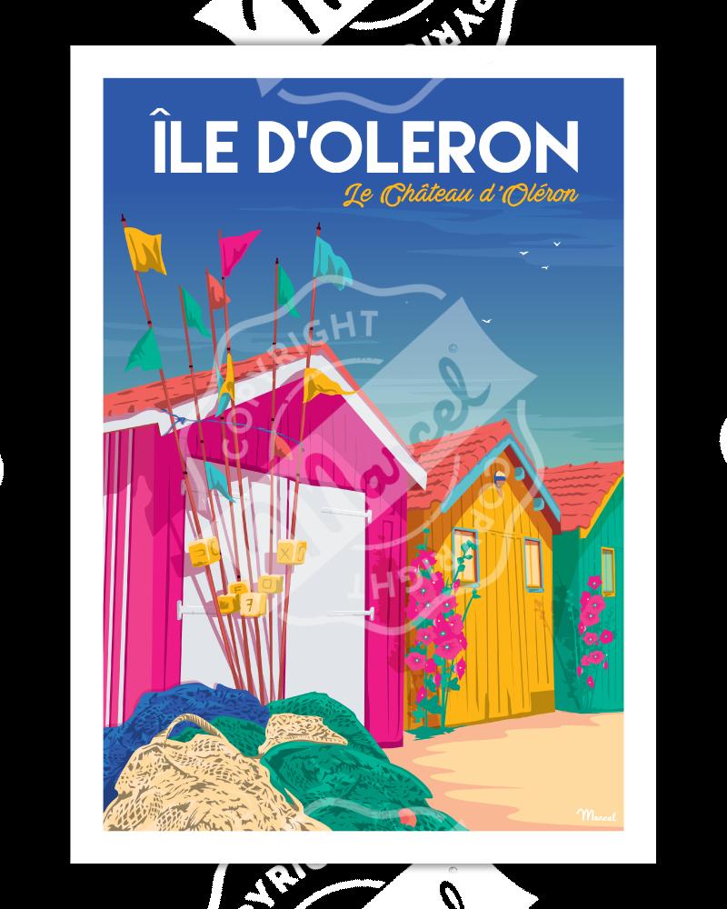Poster Île d'Oléron...