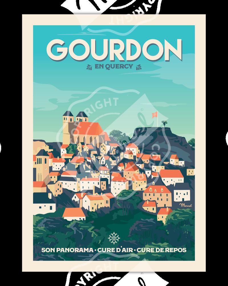 Poster GOURDON