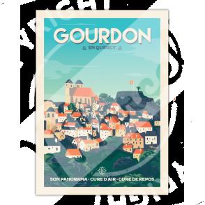 AFFICHE GOURDON