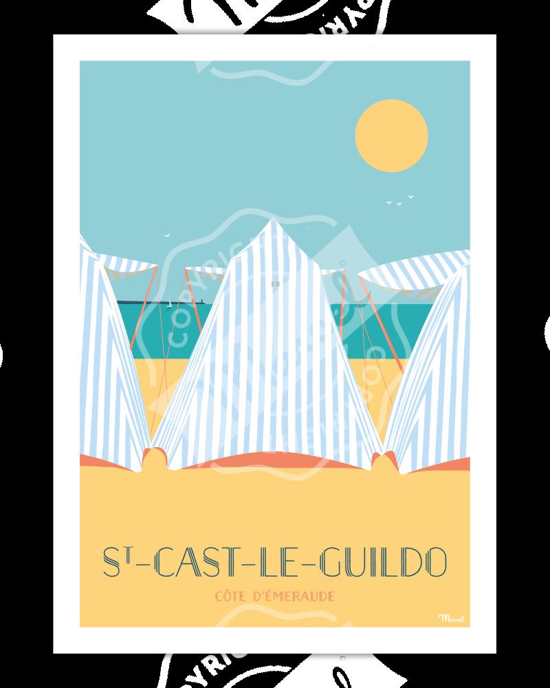 Poster ST-CAST-LE-GUILDO...