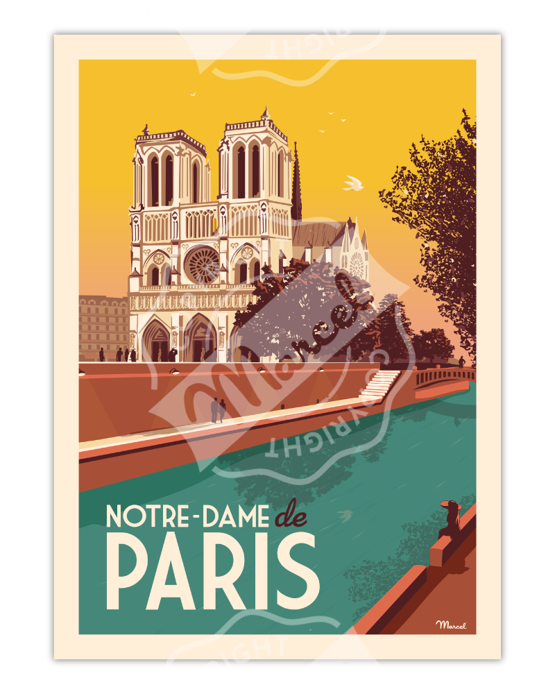 Poster NOTRE-DAME DE PARIS