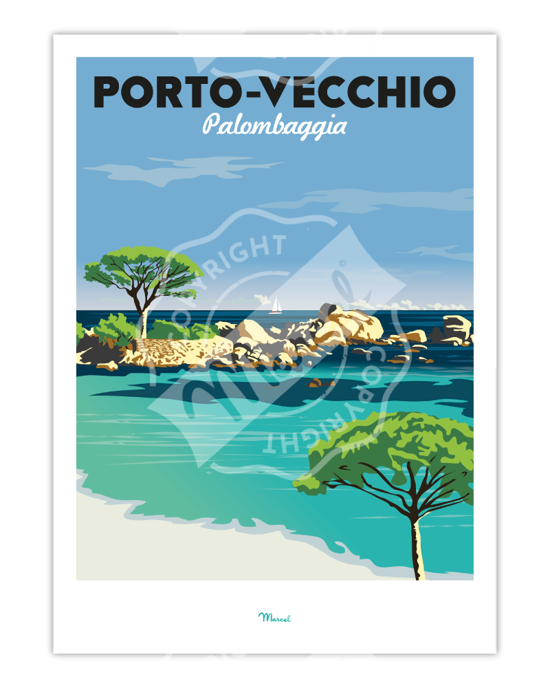 Affiche Porto-Vecchio...