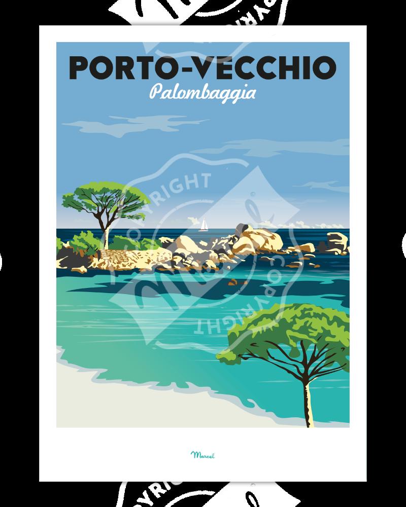 Poster Porto-Vecchio...