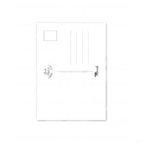 "Carte Postale Marcel SAINT-JEAN-DE-LUZ ""La Baie"" A5"